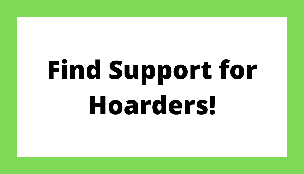 Find Support for Hoarders