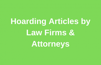 Hoarding Articles Source by Law Firms and Attorneys Small